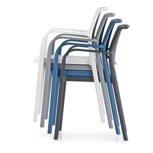 sedia Air con braccioli