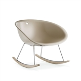 rocking chair gliss gliss350 pedrali by pedrali buy on homidesign