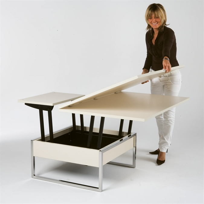 Liftable Table Square TRENDYQSEDIT By Sedit Buy Online On HomiDesign - Liftable table