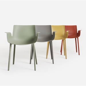 Chair-Armchair Piuma