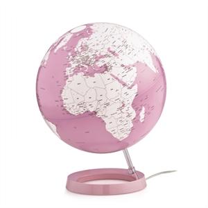 Mappamondo rosa