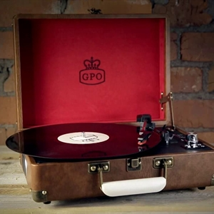 GPO Attache - Retro vintage style turntable